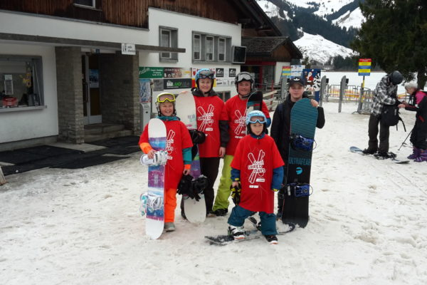 Audi Shred Day/Snowboardtag Schwarzsee