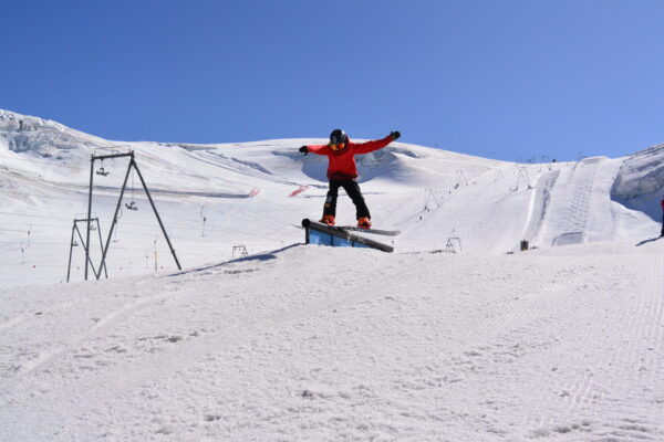 Snowboardzentrum Trainingswoche