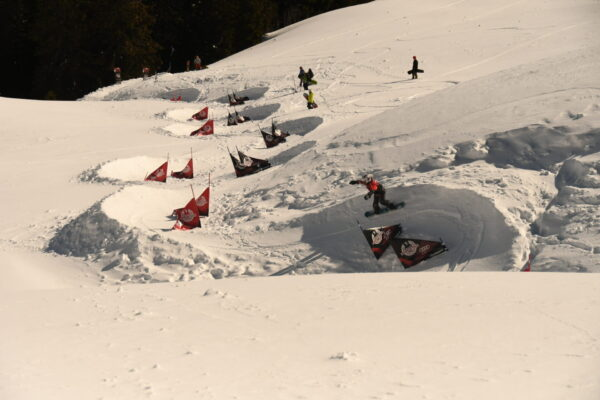 Come together am Bankedslalom Gstaad
